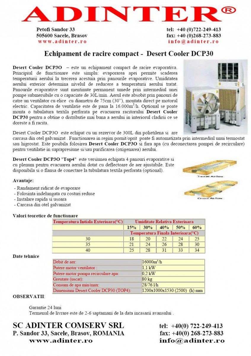 ADINTER COMPACT COOLER